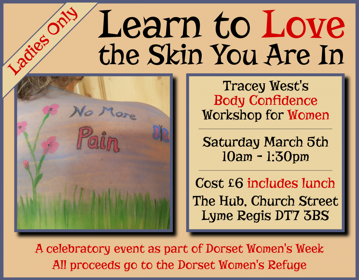 Learn to Love the Skin You're In by Tracey West - poster